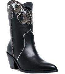 steve madden women's howdy western booties