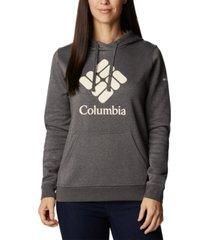 columbia women's trek graphic hoodie