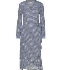 berbel dr jurk knielengte blauw part two