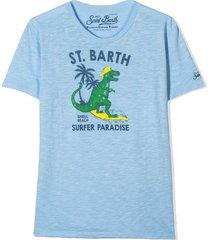 mc2 saint barth dino surfer boy t-shirt