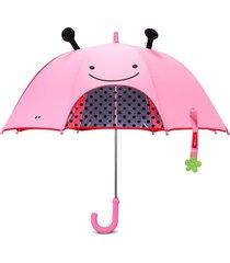 guarda chuva joaninha skip hop rosa - tricae