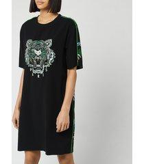 kenzo women's tiger tee dress - lime - m