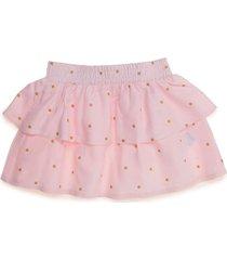 falda corta rosado offcorss
