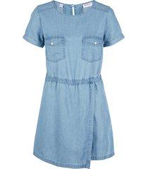 tuta in jeans di lino e tencel™ (blu) - john baner jeanswear