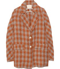 maia jacket in tabacco