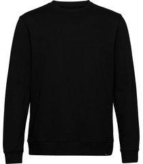 hugo crew neck 11414 sweat-shirt trui zwart samsøe samsøe