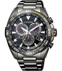 relógio citizen eco-drive safira masculino