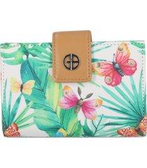 giani bernini butterfly framed bifold wallet, created for macy's