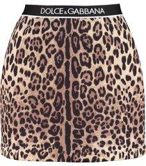 dolce & gabbana tailored mini skirt