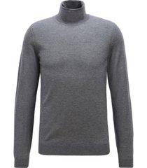 boss men's musso-p turtleneck sweater