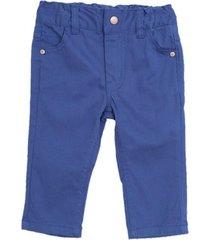 pantalon de bebo surtido colores azul marino  pillin