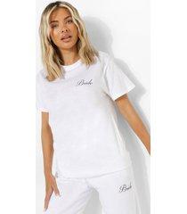 bride t-shirt, white