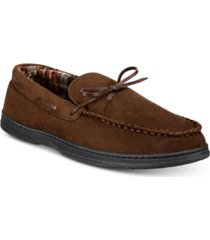 gold toe men's tie moccasins, created for macy's