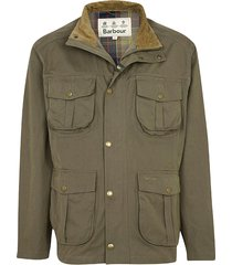 barbour sanderling casual jacket, fern, xx large