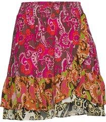 mesmerizing skirt kort kjol multi/mönstrad odd molly