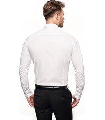 koszula versone 9001 długi rękaw slim fit biały