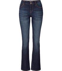 jeans elasticizzato bootcut (nero) - john baner jeanswear