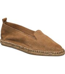 pilgrim suede loafer sandaletter expadrilles låga brun royal republiq