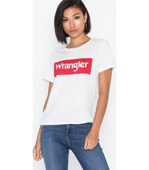 wrangler logo tee t-shirts