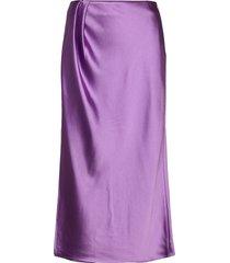 bladi, 936 lilac sheen cady knälång kjol lila stine goya