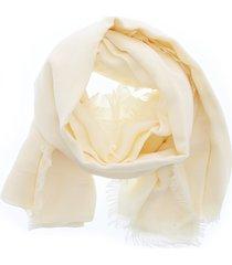 elisabetta franchi fringed scarf