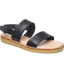 5452 shoes summer shoes flat sandals svart angulus
