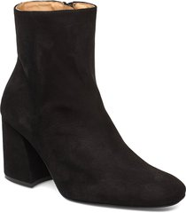 ms steinem shoes boots ankle boots ankle boots with heel svart anny nord