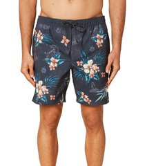 men's o'neill bloom volley shorts