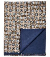 jos. a. bank medallion check silk scarf