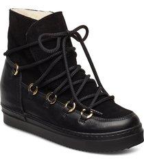 warm lining 3605 shoes boots ankle boots ankle boots flat heel svart billi bi