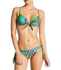 2-piece printed bikini set