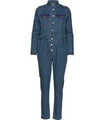 bylika boilersuit - jumpsuit blauw b.young