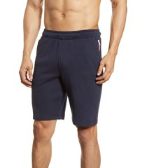 fourlaps rush frech terry shorts, size medium in navy at nordstrom