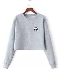et aliens printing hoodies sweatshirts harajuku crew neck sweats size s-xl