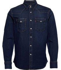 barstow western standard moder overhemd casual blauw levi´s men