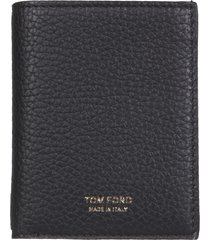 tom ford wallet with logo