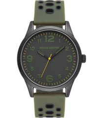 skechers kingsdale three-hand silicone watch 45mm