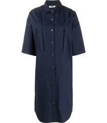 chalayan loose shirt dress - blue
