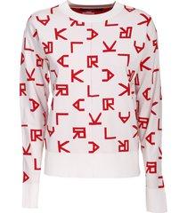 karl lagerfeld sweater, reversible,