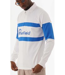 penfield cass rugby sweatshirt - white pfm312509119002