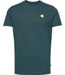 timmi recycled cotton t-shirt t-shirts short-sleeved blå kronstadt