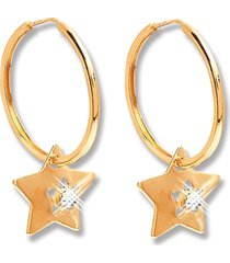 argola le diamond star dourada