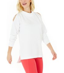 ideology cold-shoulder vented top, created for macy's