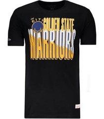 camiseta mitchell & ness nba golden state warriors masculina