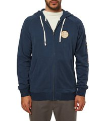 men's o'neill heritage zip hoodie