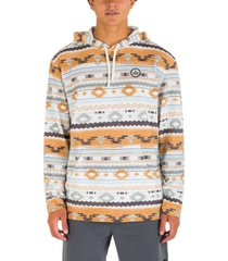 hurley men's modern surf poncho sweatshirt