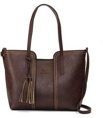 donna tote bag con frange di stile vintage casual retrao borsa a spalla con manici