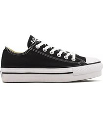 zapatilla negra converse all star lift ox