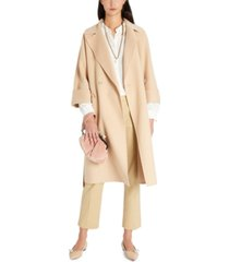 weekend max mara tie belt coat