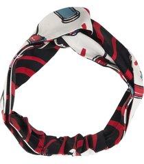 valentino valentino garavani lipstick headband